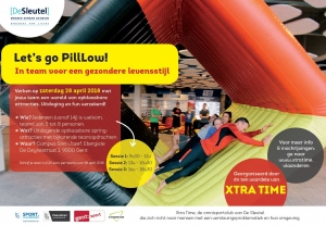 Let's Go PillLow! Hindernissenparcours Xtra Time Gent (save the date: 20 mei 2017)